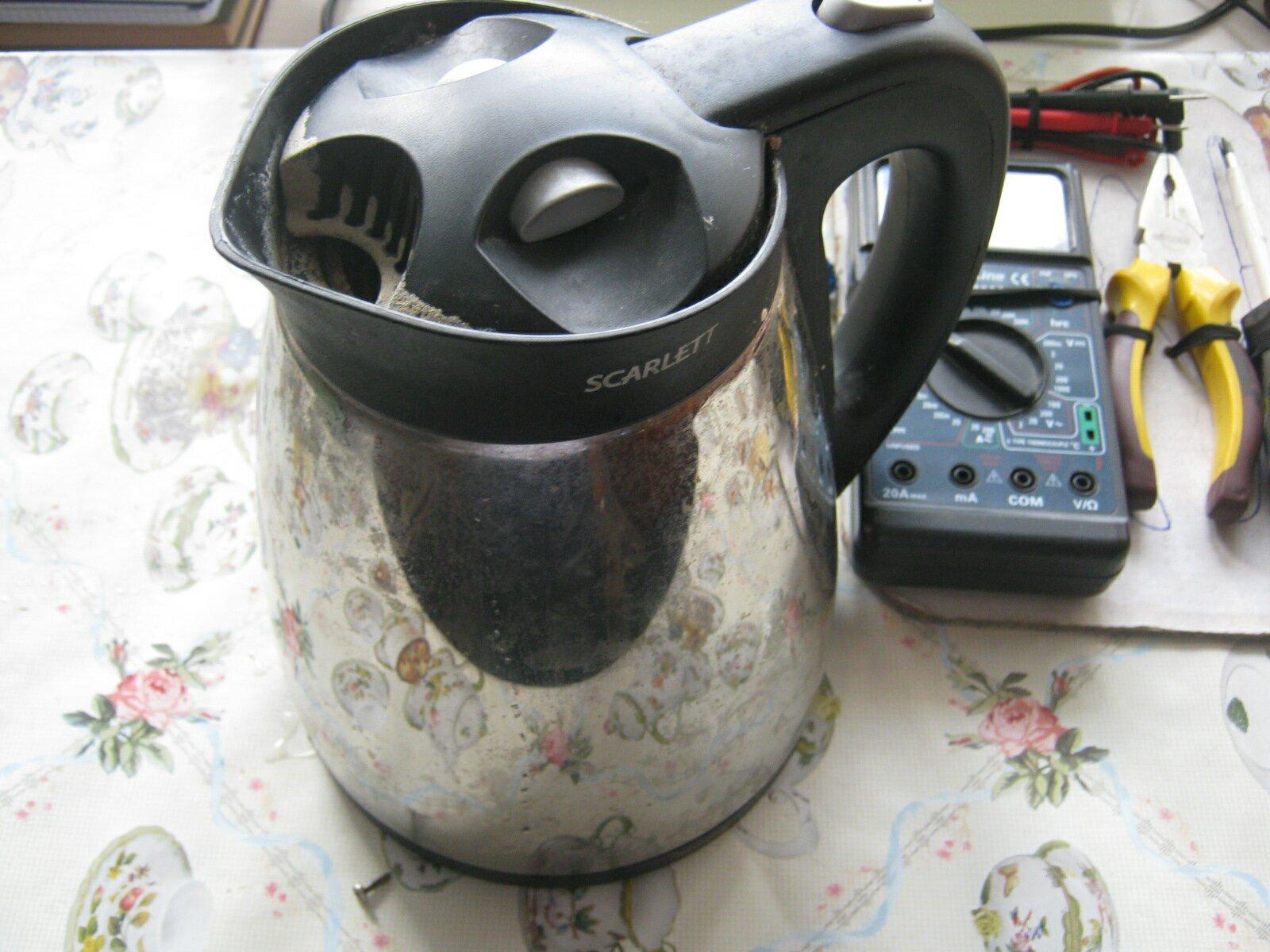 Ремонт электрочайника своими руками скарлет 12