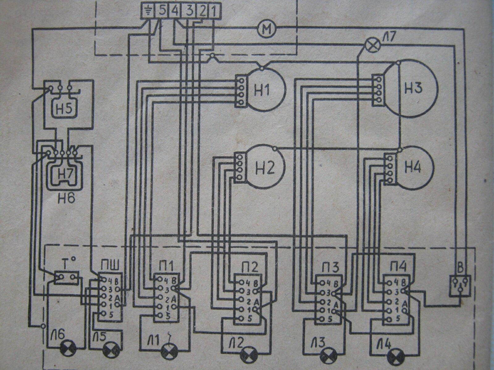 схема подключения электрической плиты beko