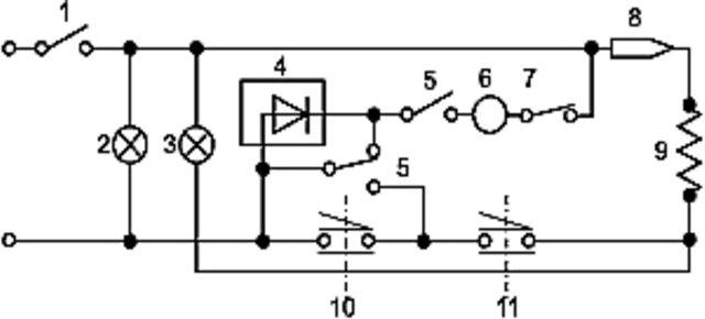 рис.4 «электрическая схема
