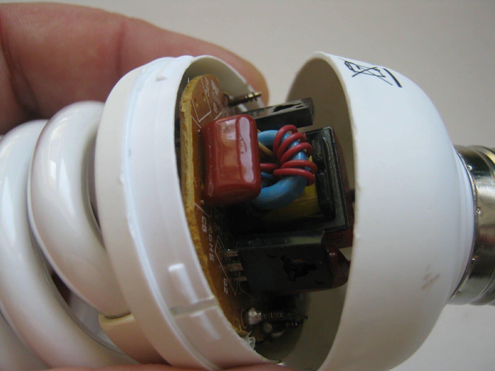 Как отремонтировать эконом лампочку своими руками видео