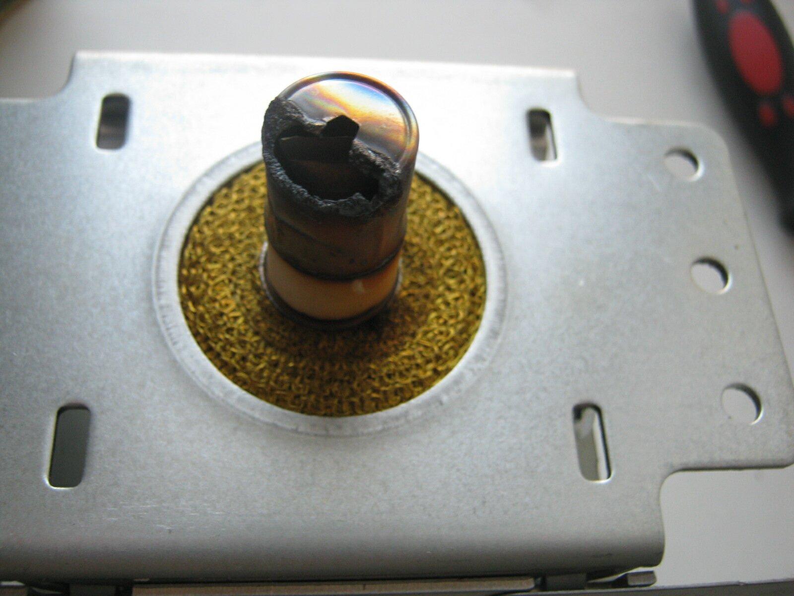 Ремонт колпачка магнетрона микроволновки своими руками 10