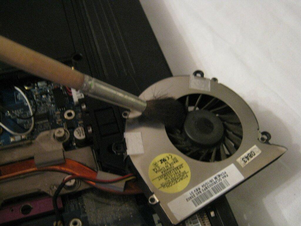 Как принудительно включить вентилятор на ноутбуке 23