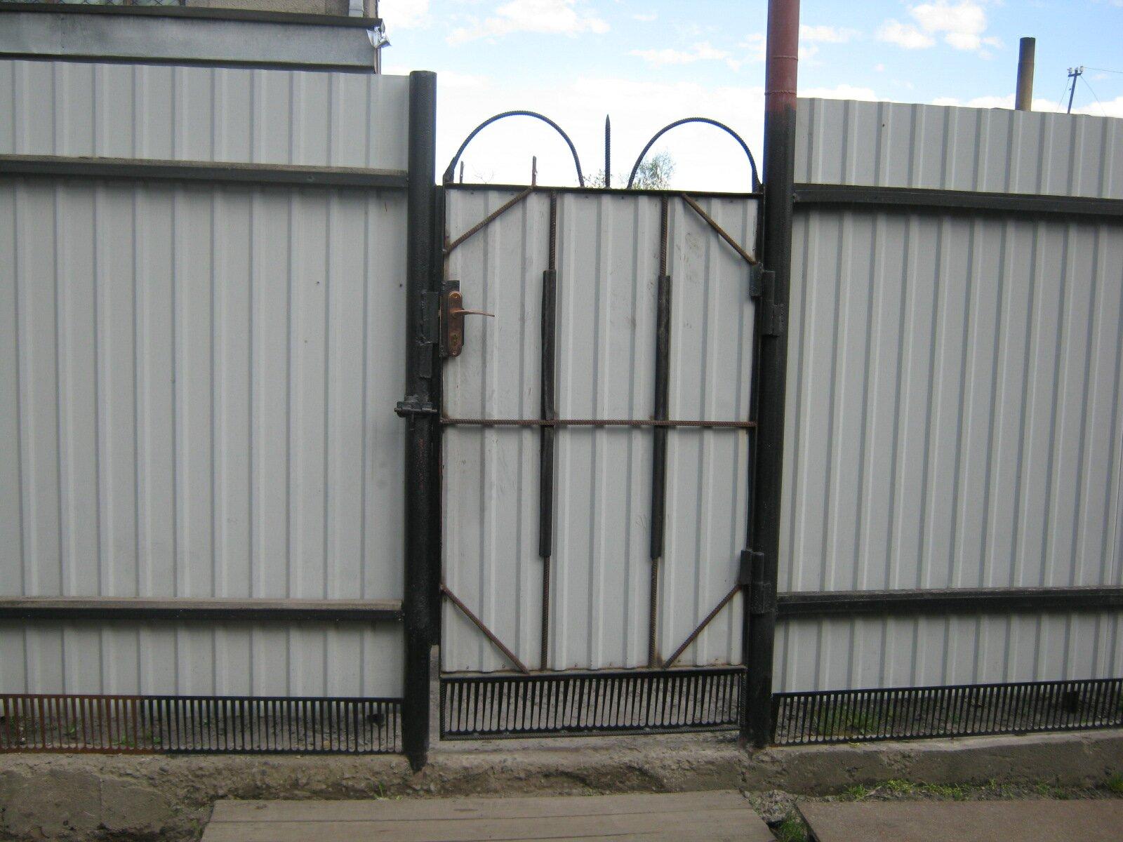 Как сделать ворота и калитку