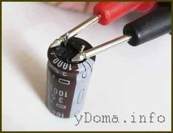 Проверка конденсаторов в домашних условиях